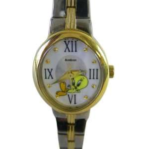 Silver Tweety Bird Watch   Ladies Tweety Bracelet Watch Toys & Games
