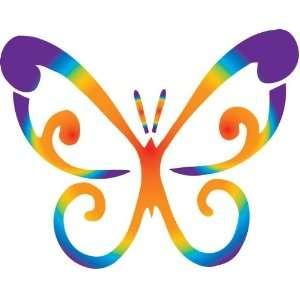 8 vinyl wall decor butterflies sticker decal Multicolor