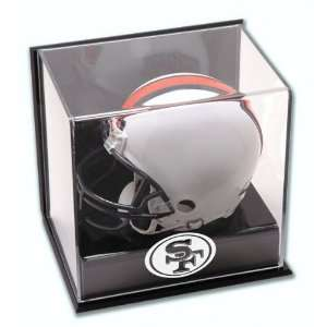 San Francisco 49ers Wall Mounted Mini Helmet Logo Display