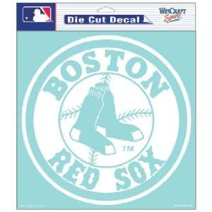 Boston Red Sox MLB Die Cut Decal (8x8) by Wincraft  Sports