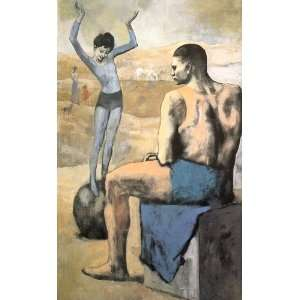 Picasso   32 x 52 inches   Young Acrobat on a Ball (1905): Home