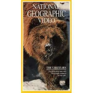 National Geographics e Grizzlies [VHS] National