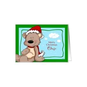 Teddy Bear Christmas   for Chase Card Health & Personal