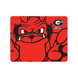 NCAA Georgia Bulldogs Red Bulldog Mascot Full Color Print