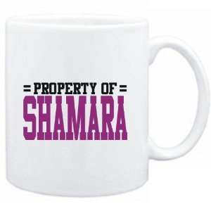 Mug White  Property of Shamara  Female Names  Sports