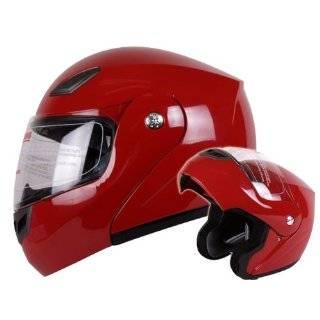 Dual Visor Modular Motorcycle Flip Up Helmet DOT (X Large) Automotive