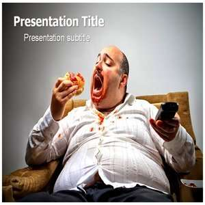 Eating Disorder PowerPoint Templates   Powerpoint (PPT) Template on
