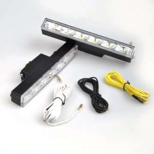 LED Daytime Running Light DRL Kit Fog Lamp Day Driving Daylight Hummer