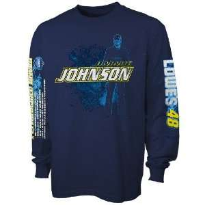 Jimmie Johnson Navy Blue Prince of Speed Long Sleeve T