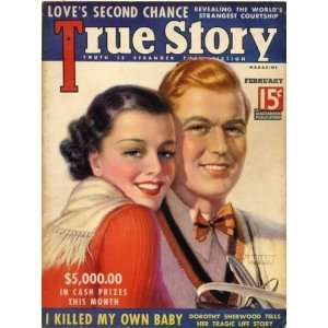 True Story Magazine February 1937: Everything Else