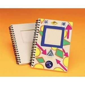 S&S Worldwide Paper Mache Notebook (Pack of 12) Arts