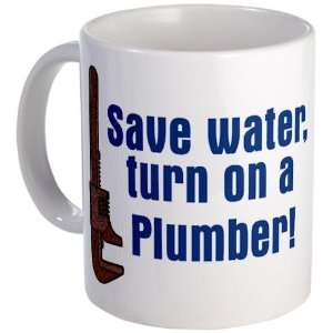 Save water Funny Mug by CafePress:  Kitchen & Dining