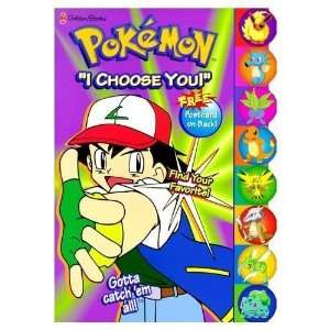 Pokemon I choose you coloring book Toys & Games