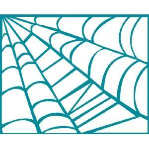 Halloween Series Spider Web   Bottom Right Removable Wall Sticker
