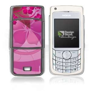 : Design Skins for Nokia 6681   Lila Blumen Design Folie: Electronics