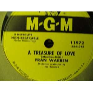 A Treasure of Love / Kiss Me and Kill Me With Love (78rpm): Music