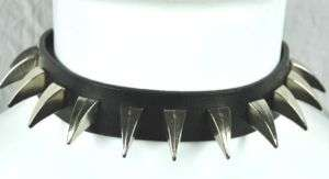 CLAW SPIKE CHOKER GOTH INDUSTRIAL PUNK ROCK BLACK METAL