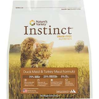 Instinct Grain Free Duck Meal and Turkey Meal Formula Dry Cat Food