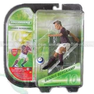 Wholesale 3D Football Popular Star Dennis Bergkamp Doll Toy