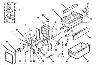 Refrigerator Parts: Kenmore Refrigerator Parts Ice Maker on kenmore air conditioner wiring diagram, kenmore clothes dryer wiring diagram, kenmore dishwasher wiring diagram, kenmore trash compactor wiring diagram, roper ice maker wiring diagram, kenmore wine cooler wiring diagram, kenmore microwave wiring diagram, sears ice maker wiring diagram, kenmore freezer wiring diagram,