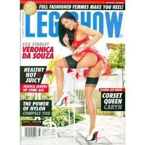 Leg Show Magazine March 2008 Veronica Da Souza: Leg Show: Books
