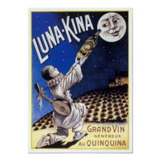 Luna Kina, Grand Vin Genereaux Au Quinquina. Museum quality, archival