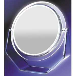 Kimball Hardwire Fluorescent Lighted Wall Mirror Beauty