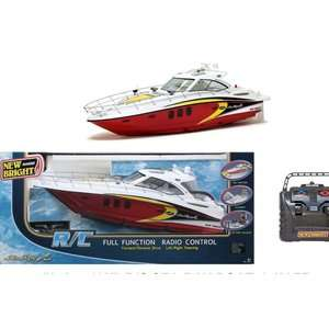 Sea Ray Boat, Remote Control Boat Toy, Battery Powered Boat Toy, Kid?s