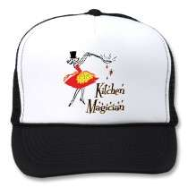 Kitchen Magician Retro Cooking Art by momsretro