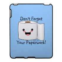 Petey TP Toilet Paper iPad Speck Case by HappyPoo
