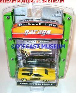 DODGE CHARGER R/T CUSTOM MUSCLE CAR GARAGE DIECAST GREENLIGHT