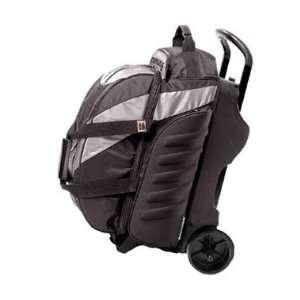 Pro Player 2 Ball Roller Steel / Black Bowling Bag