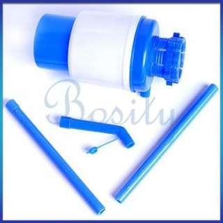 Gallon Pump Hand Press Dispenser Drinking Water Bottled Home