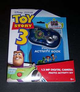 New Disney Pixar Toy Story Digital Kids Camera Photo Activity Kit Buzz
