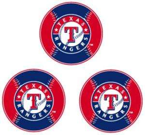 MLB TEXAS RANGERS STICKERS DECALS STICKER DECAL NEW