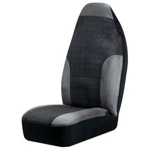 Auto Expressions Big Truck Bucket Seat Cover 2pk, Gray