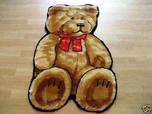 TEDDY BEAR FAUX FUR RUG PLAYMAT 2X4 NEW