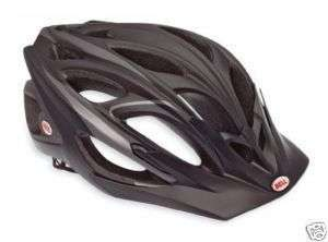 2012 Bell Influx Matte Black/Titanium Bike Helmet Large