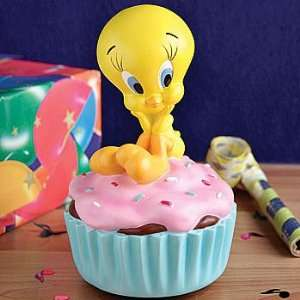 Looney Tunes Tweety Bird Cupcake Figurine