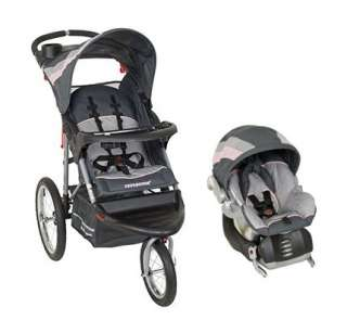 Baby Trend Expedition Jogging Stroller Travel System New Car Seat Base