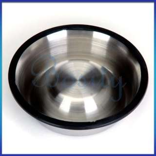 Stainless Steel Dish Bowl Large Pet Dog Cat Feeder  5#