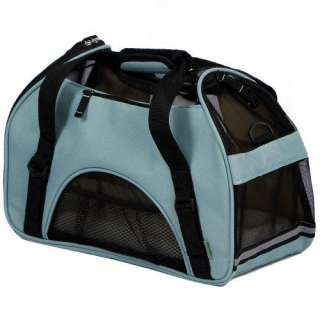 Bergan Comfort Carrier Soft Sided Pet Carrier, Small, Mineral Blue