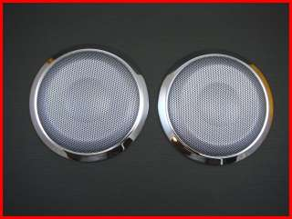 Auction For Bmw e90 e91 Interior Chrome stainless steel Speaker covers