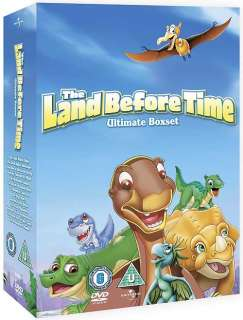 THE LAND BEFORE TIME   ULTIMATE BOX SET 1 13 COMPLETE NEW DVD