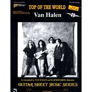 Van Halen.Top Of The World.Sheet Music. Alex Van Halen