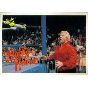 Card #83  Bobby The Brain Heenan  Sports & Outdoors