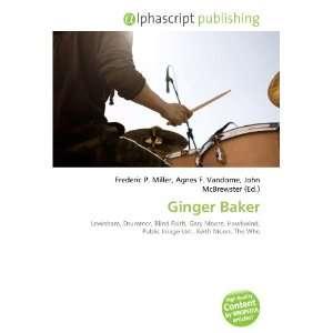 Ginger Baker (9786132859600) Books