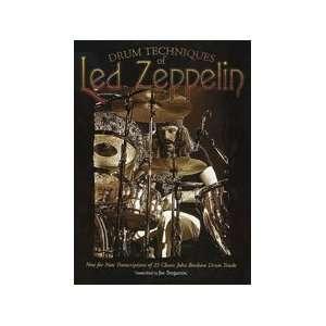 23 Classic John Bonham Drum Tracks Led Zeppelin, Joe Bergamini Books