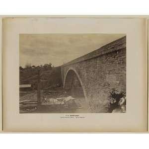 Cabin John Bridge,Mongomery C Meigs,c1861,Union Arch