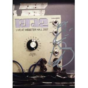 RJD2   Live At Webster Hall 2007 (Autographed), DVD RJD2